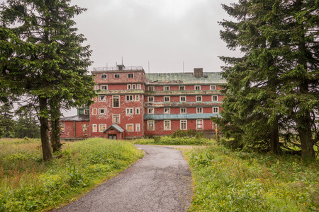 ruins: Ruins of an old hotel, Lost place