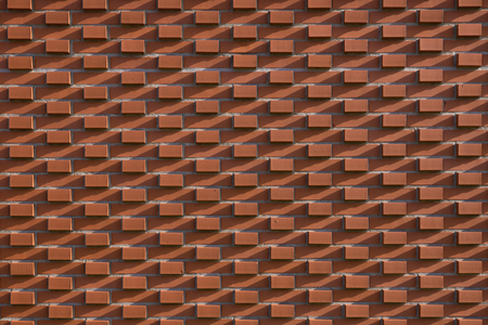 red brick: Red brick wall, industrial background for your design Stock Photo