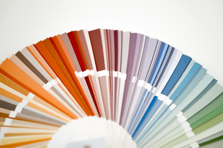 ral: Color guide, palette of different colors Stock Photo