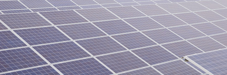 sun energy: Renewable energy, light of the sun panel Stock Photo
