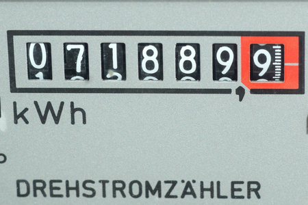 consumed: Electricity meter measures the current consumed