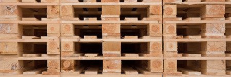 pallet: structure and texture of wooden pallets in stock Stock Photo