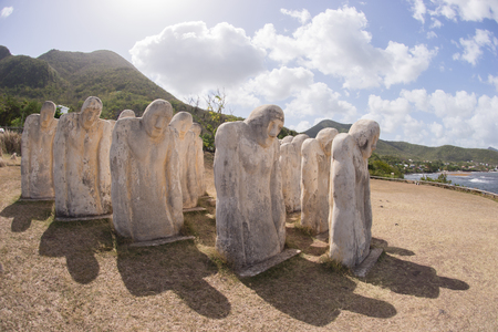 indies: Martinique, slave memorial in Le Diamant in West Indies