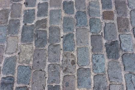 cobblestone: Background of old cobblestone pavement