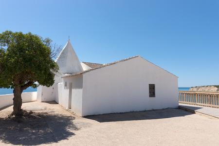 rocha: Chapel nossa senhora da rocha. Region Algarve. Portugal Stock Photo