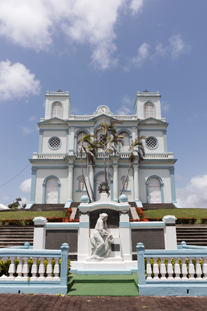 marie: The picturesque church of Sainte Marie in West Indies, Martinique