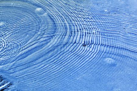 circular blue water ripple: Blue water waves and ripples, circular water ripple background