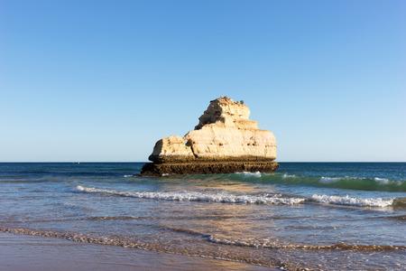 rocha: Beach of Praia da Rocha, Portimao Coast. Algarve. Portugal