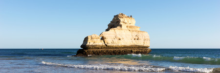 Beach of Praia da Rocha, Portimao Coast. Algarve. Portugal