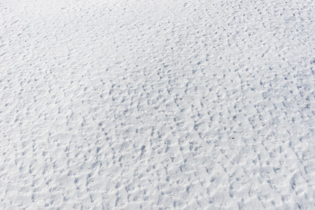 Close up of snow surface texture, winter background Reklamní fotografie