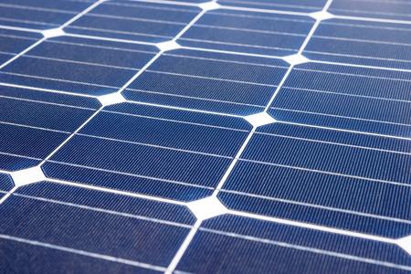 voltaic: Closeup of solar panel