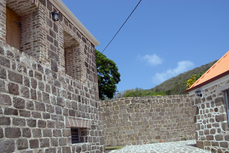 Fort Shirley at Portsmouth, Dominica, Lesser Antilles, Windward Islands, West Indies, Caribbean