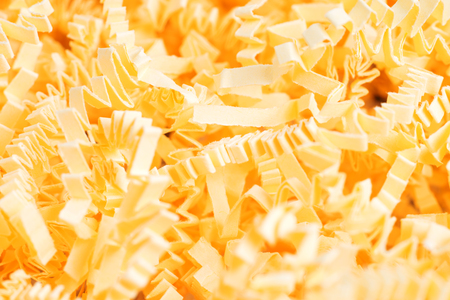 Background of sawdust, close up texture of sawdust Stock Photo
