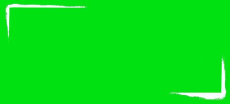 Green background with white corners. Green texture