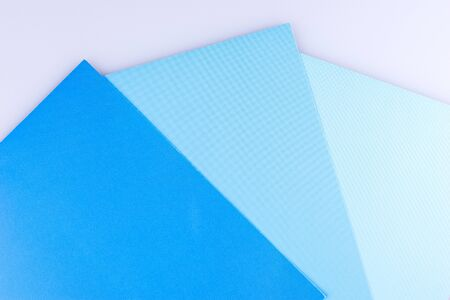 Blue background. Three separate shades of the blue 版權商用圖片