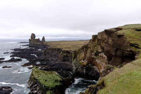 Snaefellsnes National Park, Iceland. It is the tourist destination of west Iceland. Europe