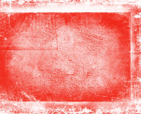 Decorative red background. Paint texture. Red wall surface