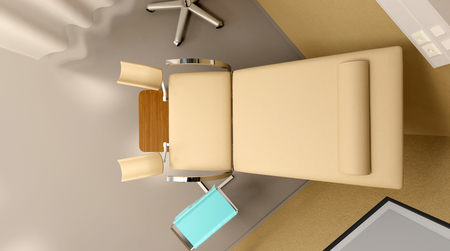 surgical department: Womens surgery. 3D rendering
