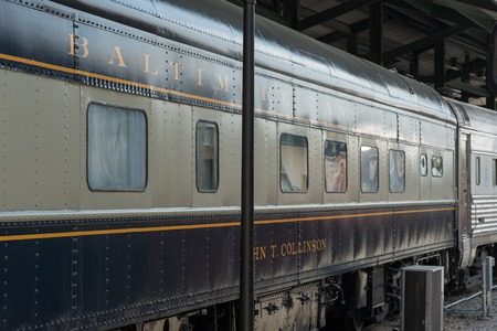 B O No. 908, John T. Collinson Baltimore Ohio Railroad