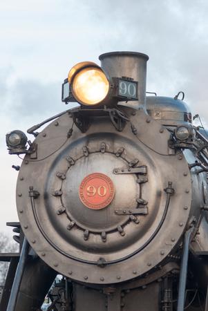 STRASBURG, PA - DECEMBER 15: Steam Locomotive in Strasburg, Pennsylvania on December 15, 2012