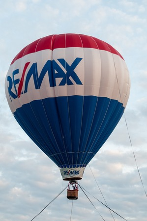 EAST GOSHEN, PA - JUNE 21: The Remax balloon floating at East Goshen Day on June 21, 2014 Editorial