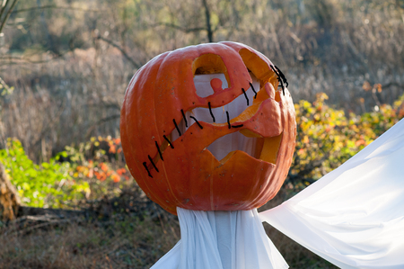 CHADDS FORD, PA - OCTOBER 26: The Great Pumpkin Carve carving contest on October 26, 2013 Editorial