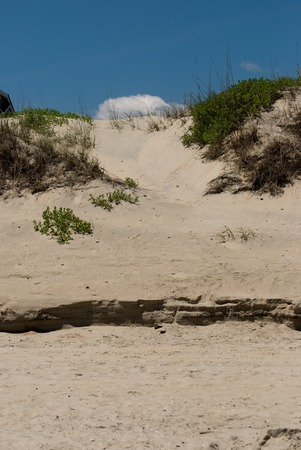Jockeys Ridge Sand Dune in the Outer Banks, North Carolina.
