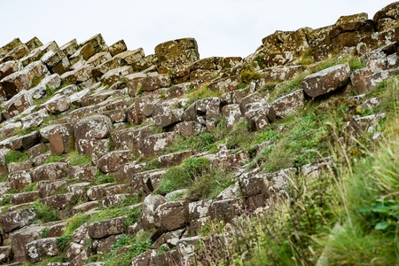 The Giants Causeway in County Antrim, Northern Ireland