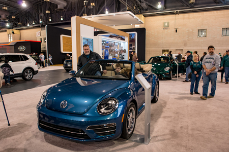 PHILADELPHIA PA Feb People Enjoying The Philadelphia - Phila car show 2018
