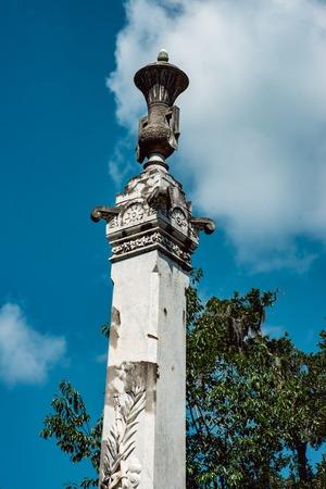 Charles Stubbs Cemetery Statuary Statue Bonaventure Cemetery Savannah Georgia