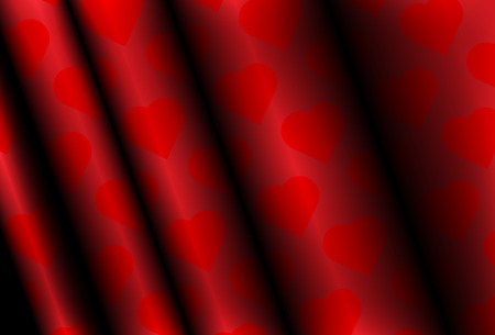 rippled: Hearts wallpaper