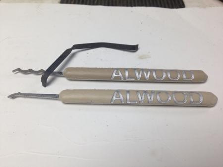 Generatie 2 ALS Alwood Lock Sport picks en spanner