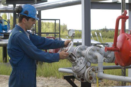 sectores: Operador de producci�n de gas y mantiene el sitio