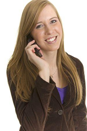 Stunning Business professional communicates Zdjęcie Seryjne
