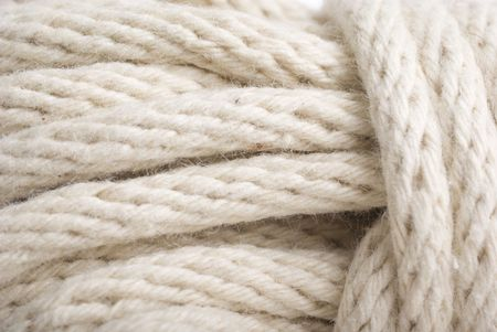 macro or close up of rope.  abstract textured  background