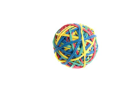 Rubber Band Ball Zdjęcie Seryjne