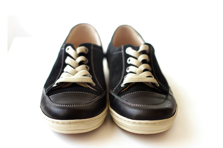 footwear: Sneakers footwear for sports Stock Photo