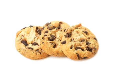 milk and cookies: chocolate chip cookies