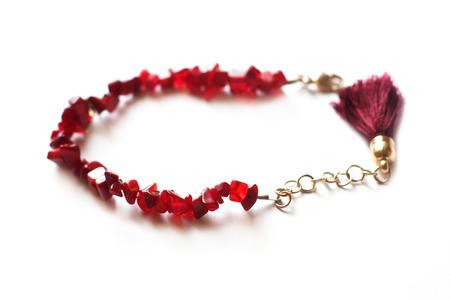 garnet: Garnet bracelet