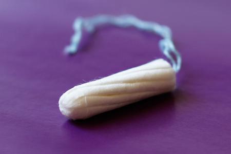 female vagina: Tampon for feminine hygiene