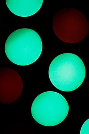defocussed: Defocussed colored lights Stock Photo