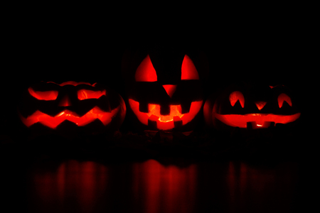 Moonlight lanterns: Halloween Jack O Lantern Pumpkins