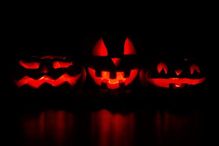 Moonlight lanterns: Halloween Jack O Lantern Pumpkins