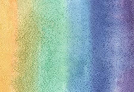 arco iris: la acuarela del arco iris