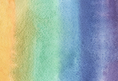 colorful paint: Watercolor rainbow