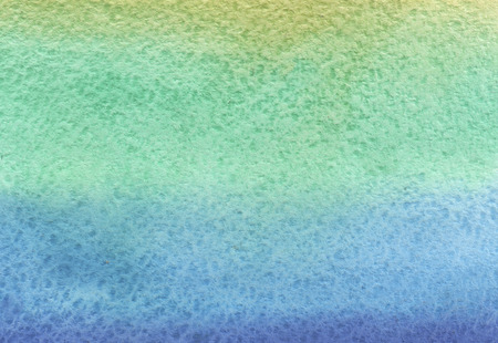 color image: Bblue-turquoise and green watercolor use as background