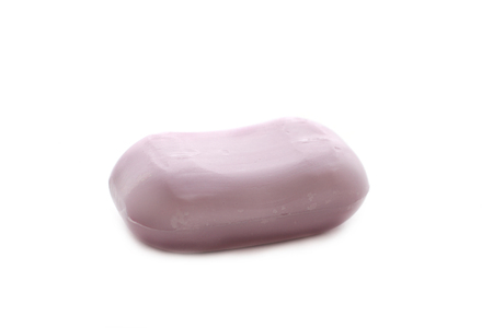 antibacterial soap: piece of soap Stock Photo