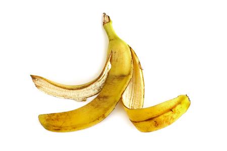 meanness: banana peel Stock Photo