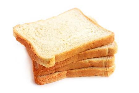 dearth: Slices of white bread