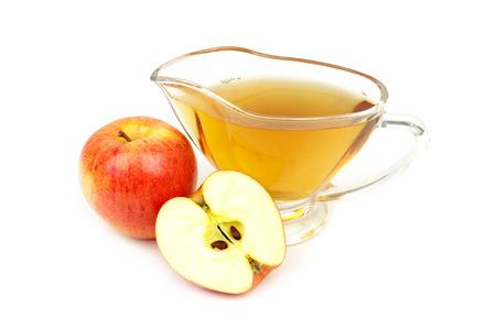 Apple azijn close-up